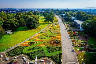 Bundesgartenschau in Erfurt eröffnet