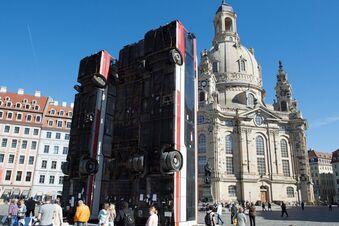 """Umstrittenes """"Monument"""" kommt zurück nach Dresden"""