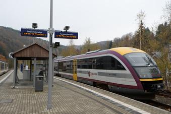 Städtebahn fährt wieder durchs Müglitztal