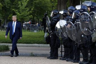 """Trump: """"Ich bin Ihr Präsident für Recht und Ordnung"""""""