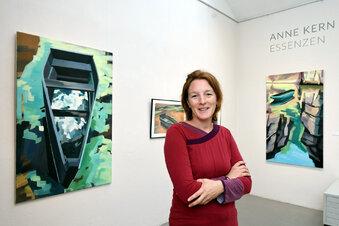 Wehlener Künstlerin zeigt in Dresden ihre Bilder