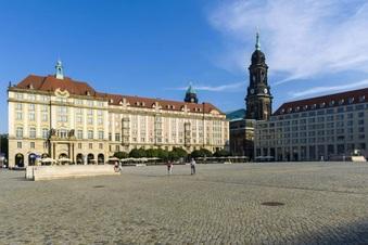 Dresdner Altmarkt: teure Sanierung
