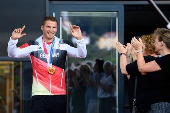 Was Dresdens Goldjunge nach dem Olympiasieg sagt