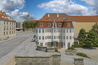 Dresdner Narrenhäusel: Bürgermeister drückt aufs Tempo