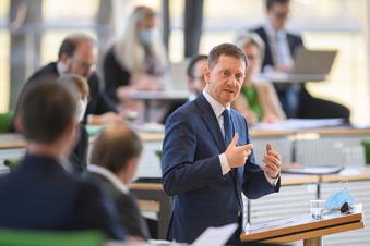 Kretschmer kritisiert Bund wegen Coronahilfen