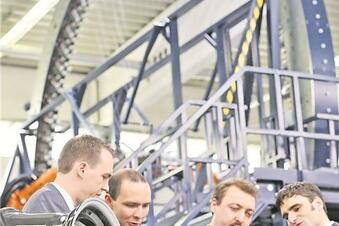 Thyssen-Krupp forscht und produziert in Kesselsdorf