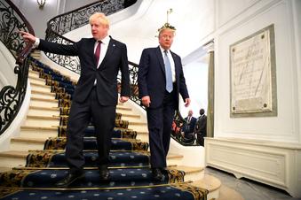 Trump will Handelspakt mit Großbritannien