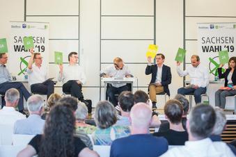 Dresdner bestimmen Wahlforum-Themen