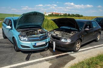 Göda: Opel und Audi stoßen zusammen