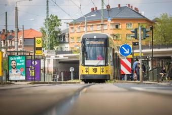 Bauarbeiten blockieren Großenhainer