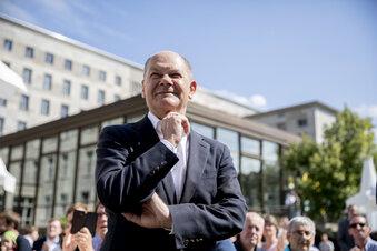 OlafScholz sagt mangels Prominenter Ja