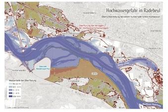 Wo Überschwemmungen in Radebeul drohen