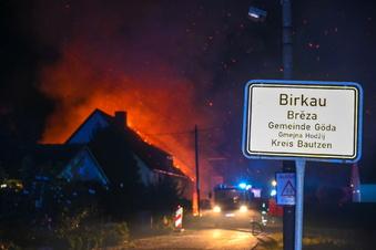 Verheerender Brand in Birkau