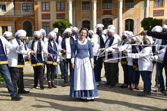 Neues Stollenmädchen trotz Corona-Jahr
