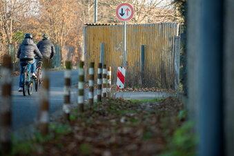 Was auf der Straße am Lößnitzbad geplant ist