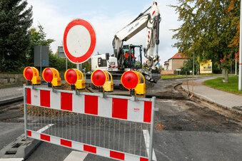 Straßenbau in Olbersdorf dauert länger