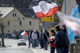 """Corona: Zwischenfall beim """"Stillen Protest"""""""