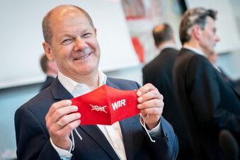 Scholz will zurück in den Bundestag