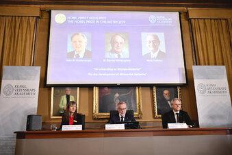 Chemie-Nobelpreis an drei Batterieforscher