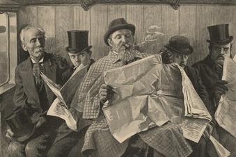 Wie Sachsen die Zeitung erfand