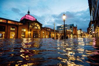 Weitere Sturmfluten im Norden erwartet