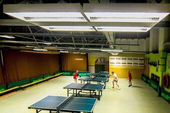 Super Licht für Tischtennisspieler
