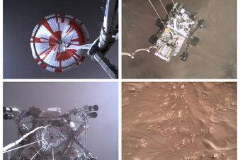 Nasa-Rover schickt Videos vom Mars