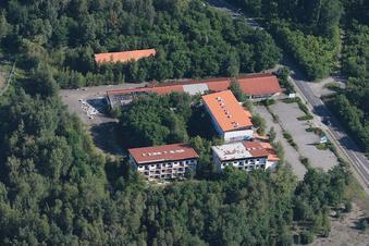 Der Trautmannbau-Komplex in Lauta wird abgerissen