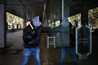 Dresdner ertappt Einbrecher