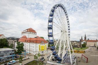Das erwartet die Gäste des Dresdner Riesenrads