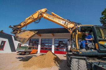 Bockelwitzer Gerätehaus wird übergeben