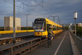 Dresdner Bahnen werden umgeleitet