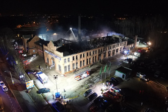Wie die Feuerwehr loslegte