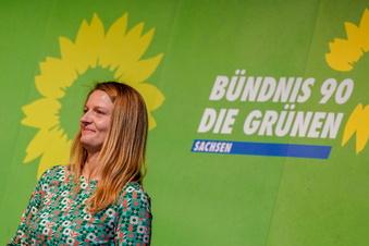 Sachsen: Grüne wollen zweistellig werden