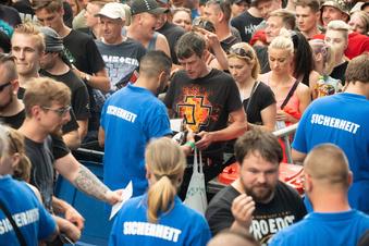 Rammstein-Konzert: Es geht weiter