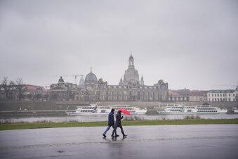 Die extremsten Dresdner Regen-Monate