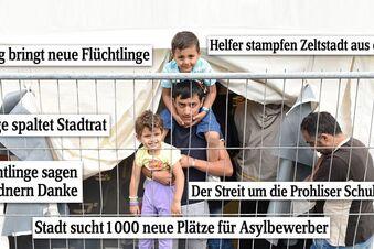 Flüchtlingskrise spaltet Dresden