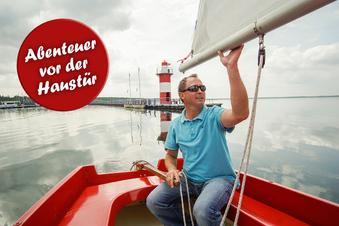 Segeln lernen auf Sachsens größtem See