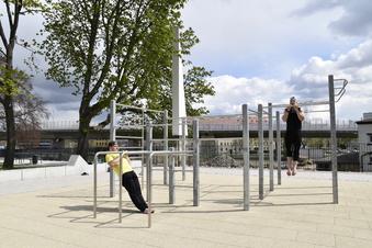 Dresden hat einen neuen Park
