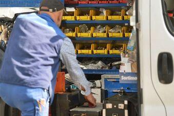 Werkzeug-Klau aus Handwerkerautos
