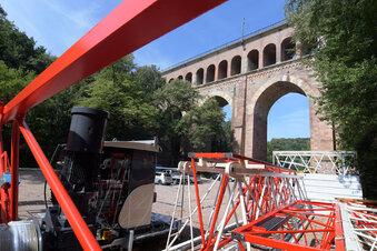 Am Viadukt beginnt der erste Bauabschnitt