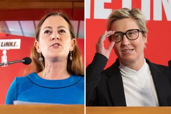Zwei Kandidatinnen für die Linke