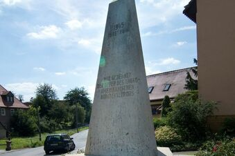 Keine Ruhe am Nickerner Obelisken