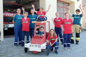 Feuerwehr organisiert Seifenkistenrennen