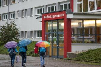 Gymnasium Freital mit Werbung per Video
