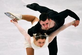 Deutsches Eiskunstlauf-Paar wird WM-13.