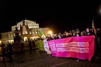 """Bündnis """"Dresden für alle"""" protestiert wieder"""