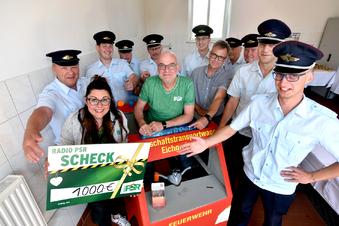 Radio PSR hilft beim neuen Feuerwehrauto