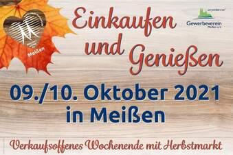 Am Wochenende ist Herbstmarkt und Elbtalweinlauf