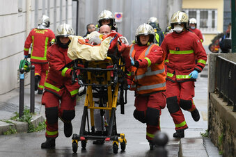 Festnahme nach Messerattacke in Paris